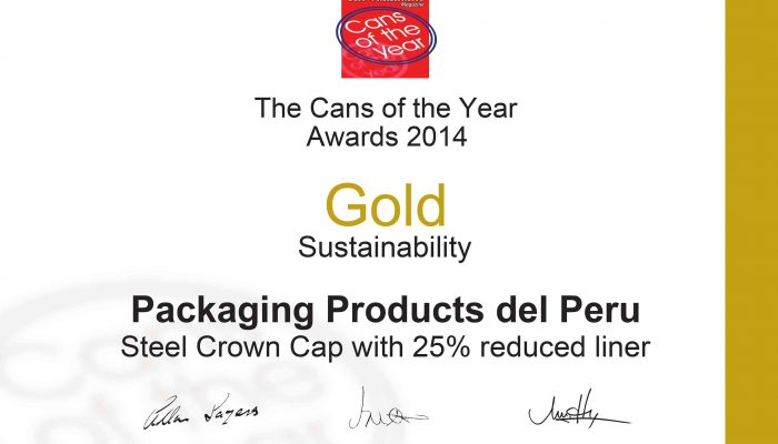 ANEXO 5_Sustainability Gold Packaging Products del Peru